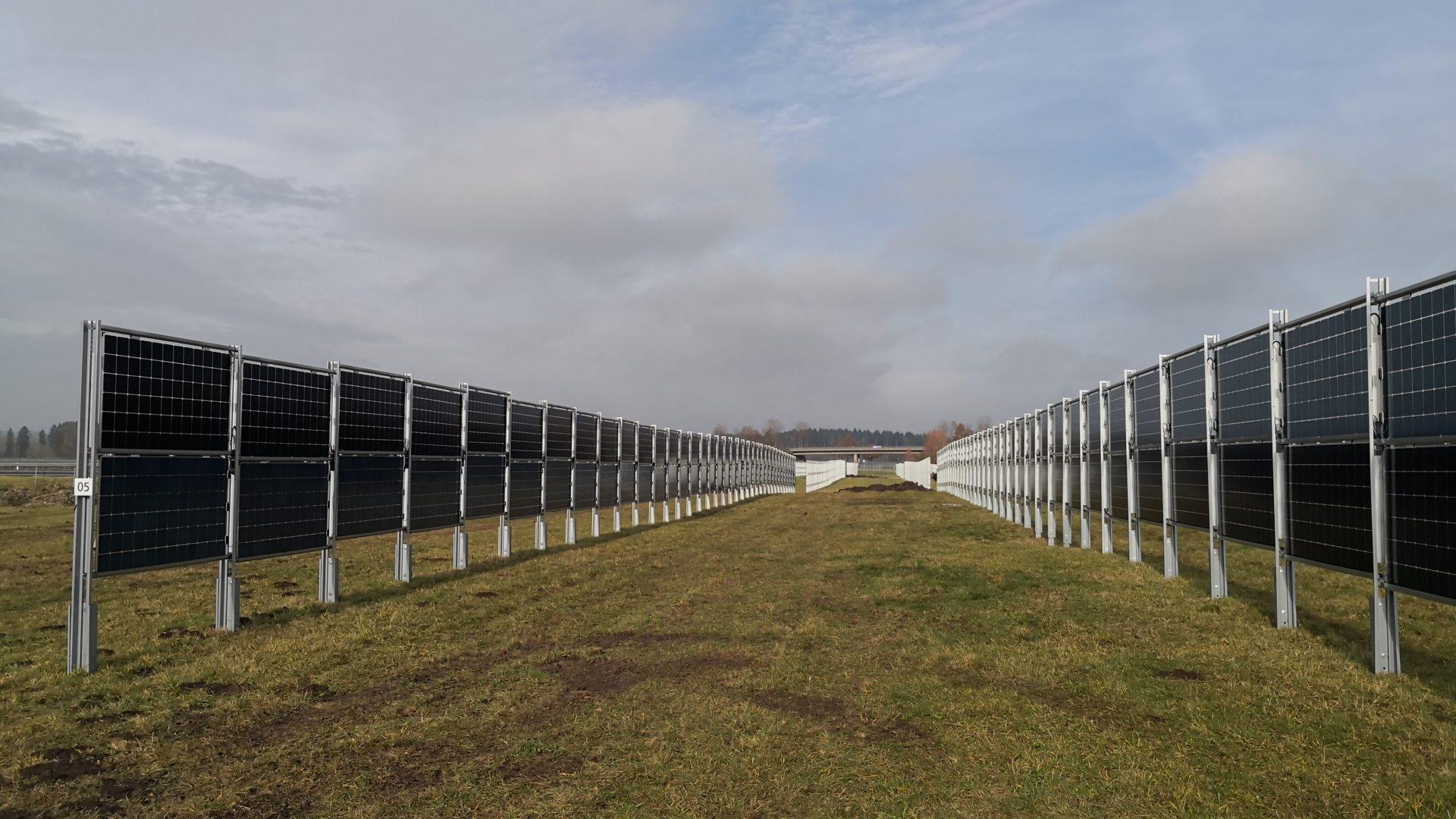 Abb.: 4,1MW Solaranlage in Aasen bei Donauschingen (Inebtrieb