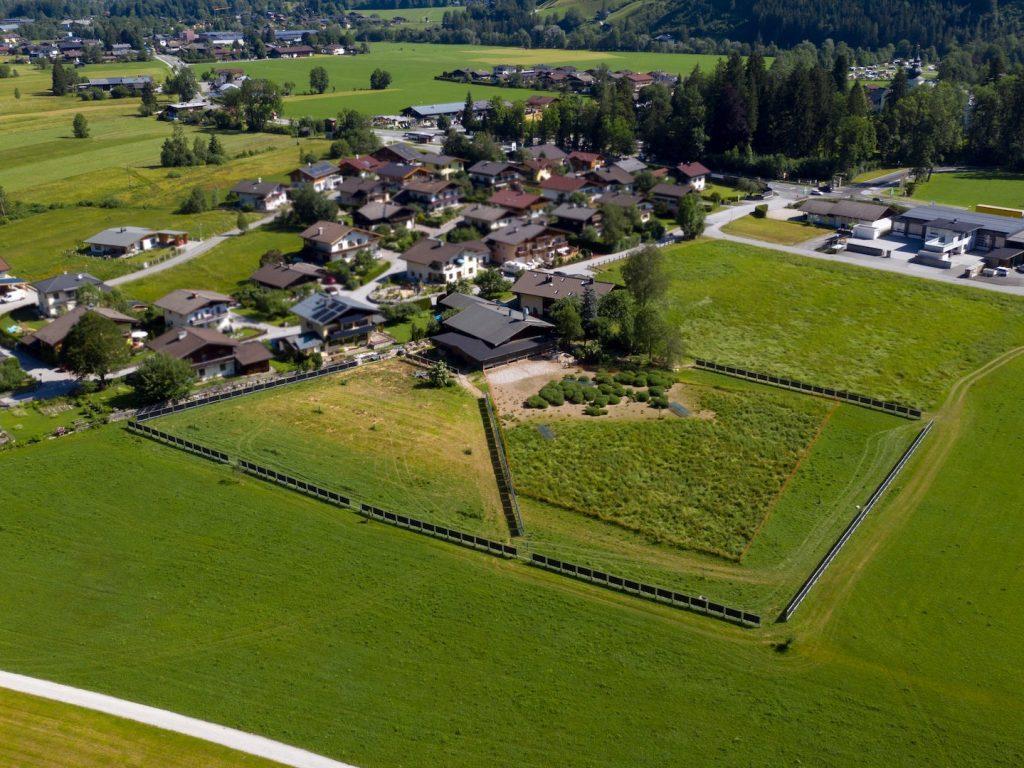 Solarzaun In St. Martin (Österreich)