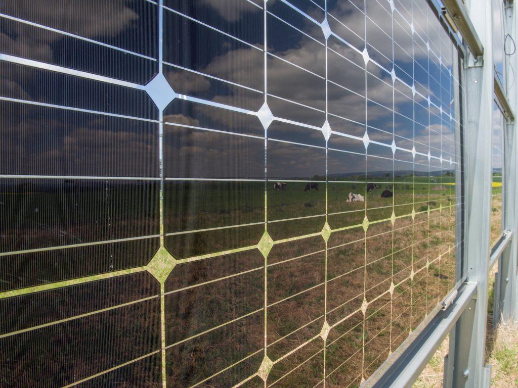Bifaciales Solarmodul