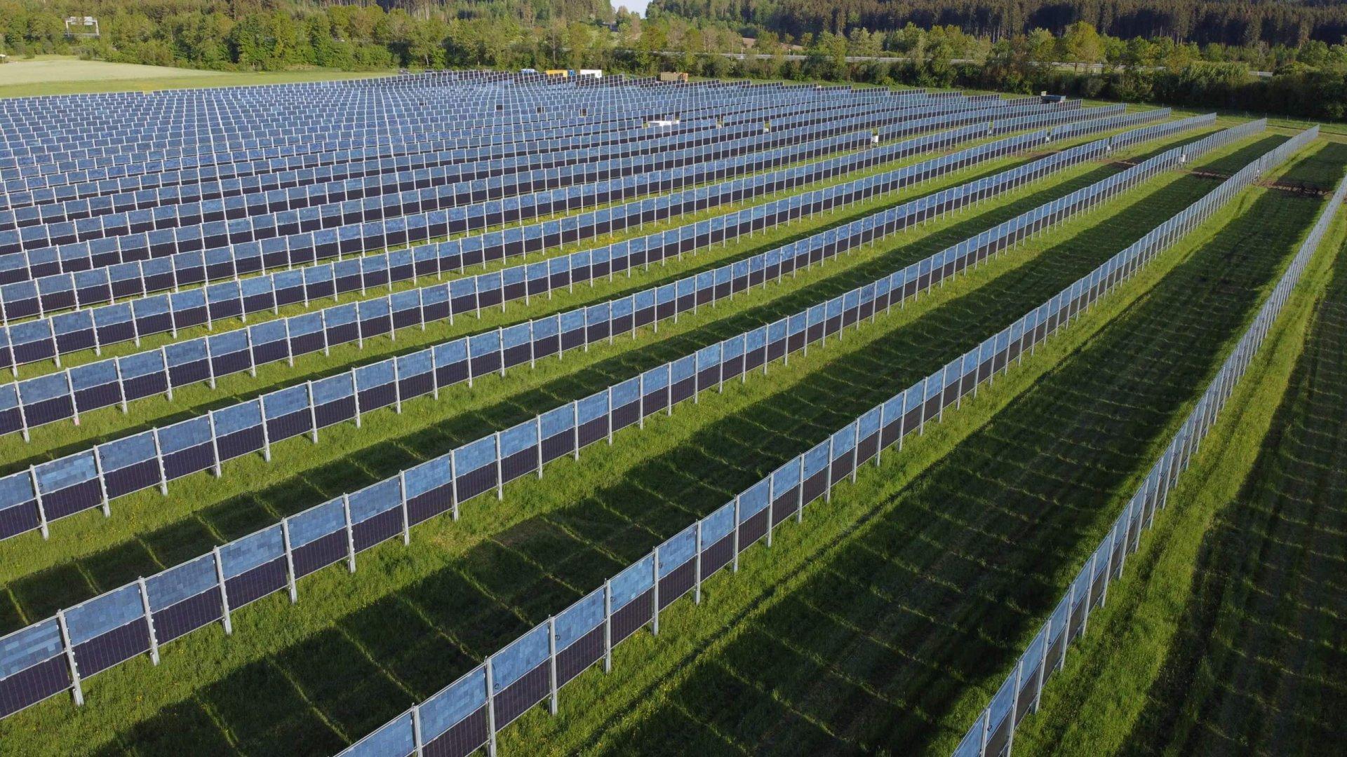 Abb.: 4,1MW Solaranlage in Aasen bei Donauschingen