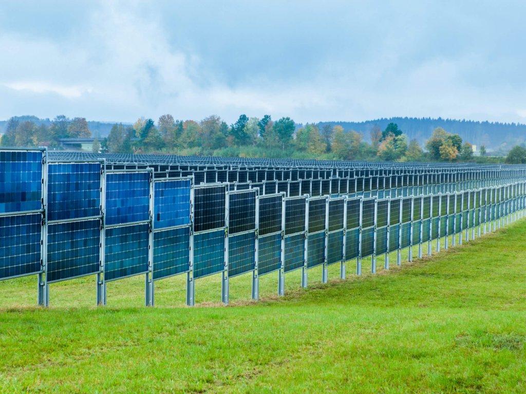 Gestellsystem Solarpark Donaueschingen-Aasen