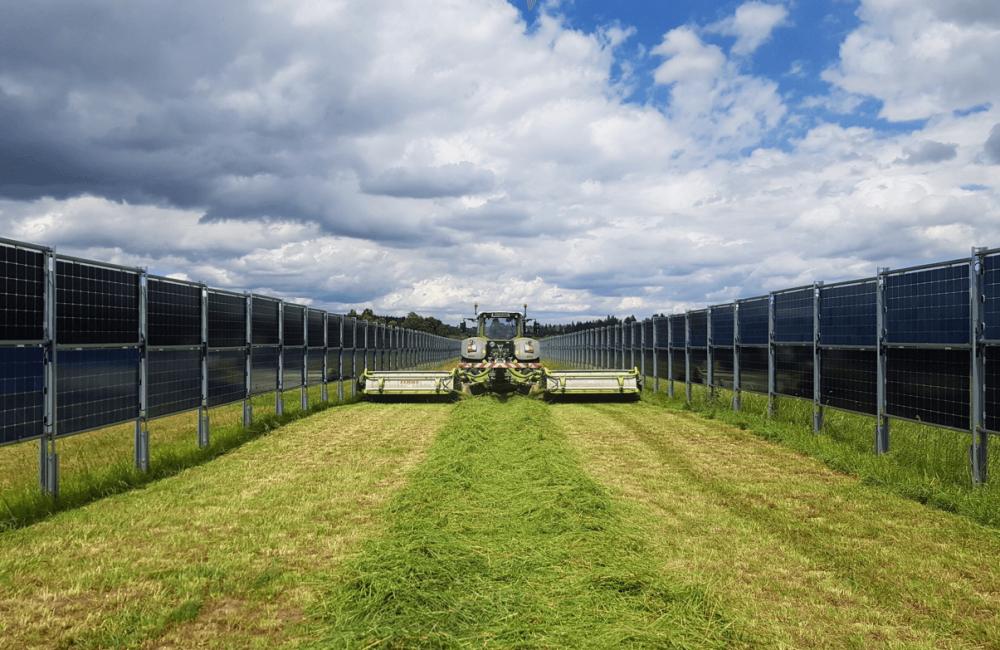 Mahd Solarpark Donaueschingen Sommer 2020